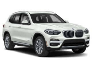 2020 BMW x3 xDRIVE30i white angled