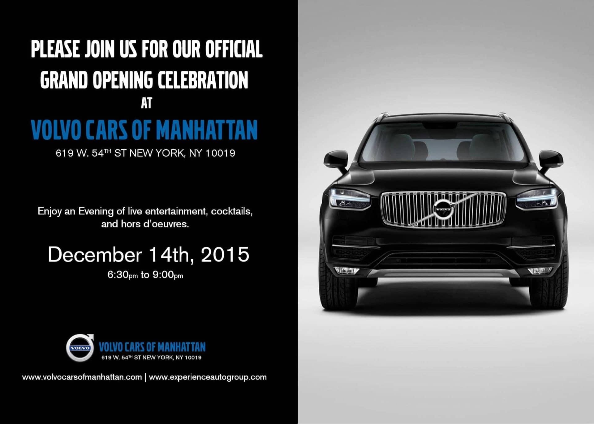 Volvo Grand Opening