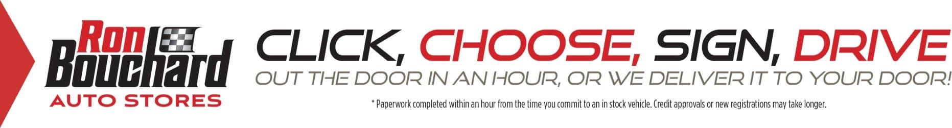 click choose sign