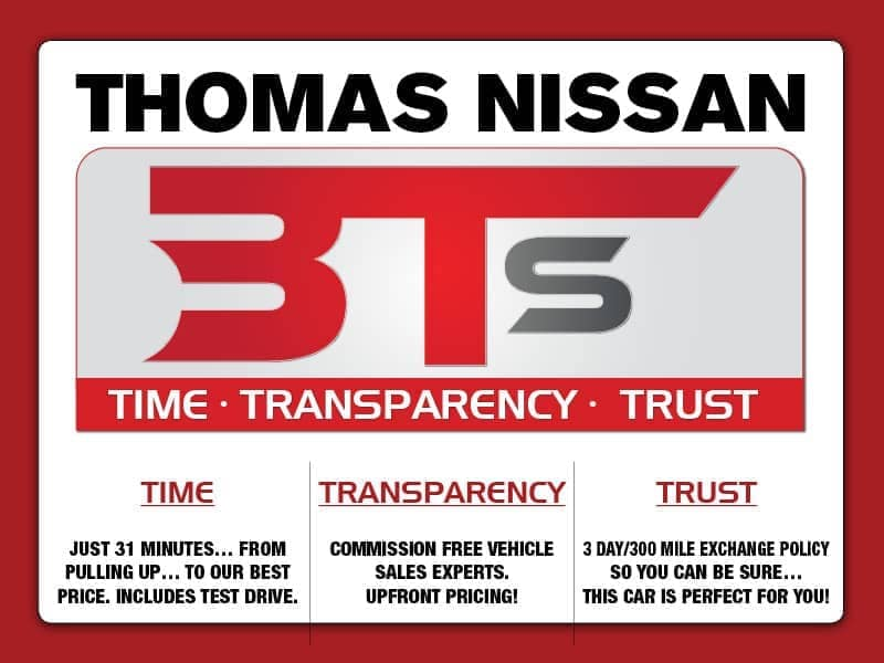 What Makes Thomas Different - time-transparency-trust