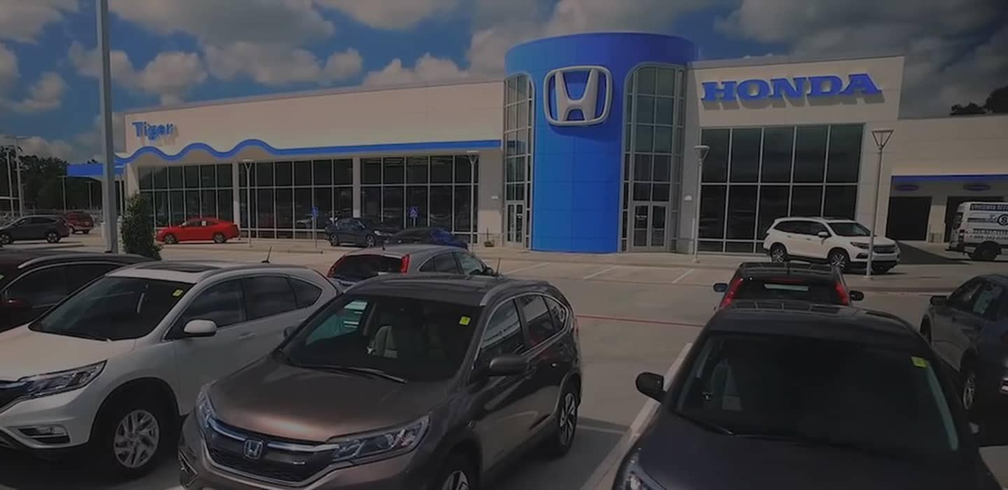 welcome to Tiger Honda of Gonzales