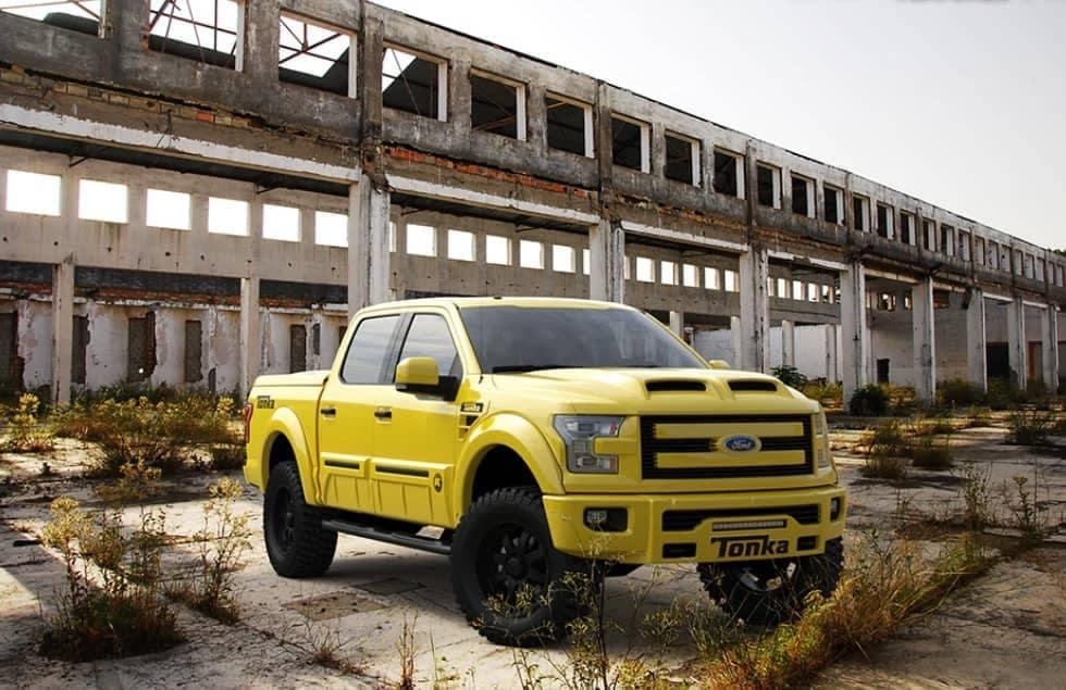 Tonka Truck Ford Yellow