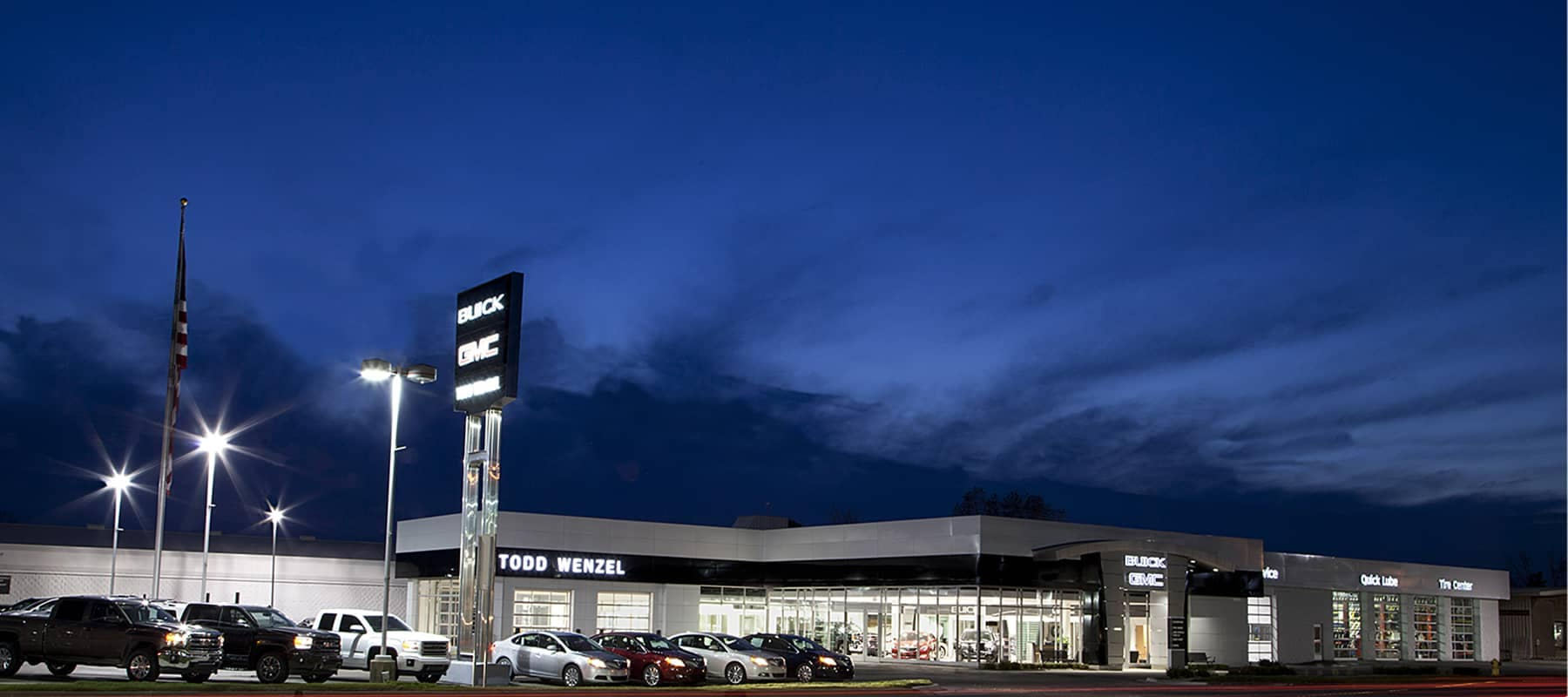 Exterior Shot of Todd Wenzel Buick GMC of Davidson
