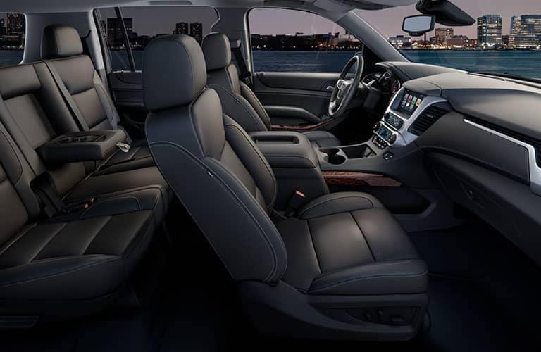 2019-GMC-Yukon interior