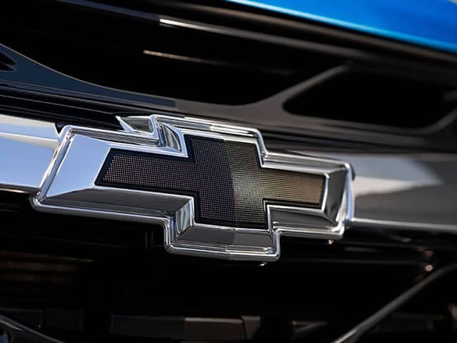 Chevrolet Logo on front grill