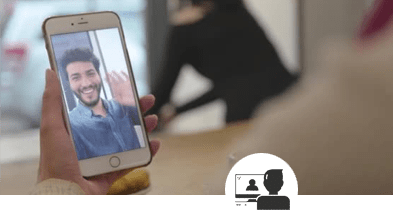 a-close-up-of-a-cellphone-making-a-video-call