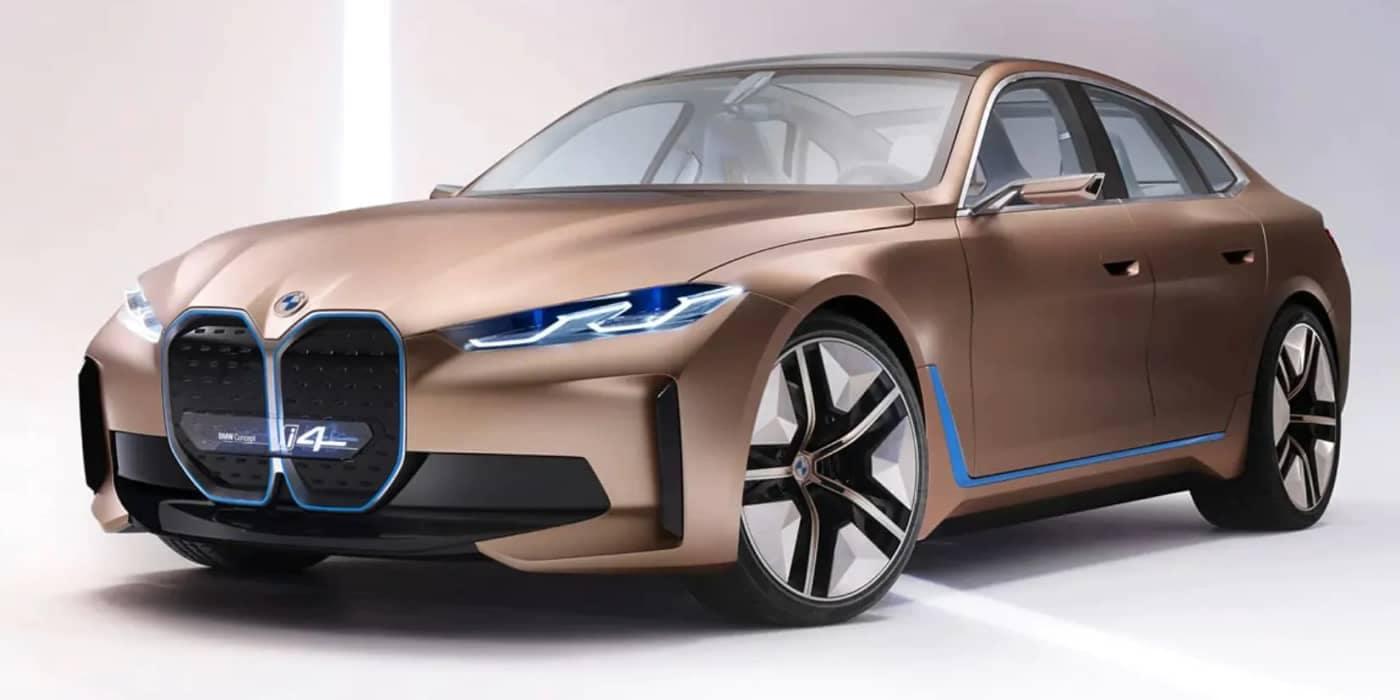 Copper Gold BMW i4 - large
