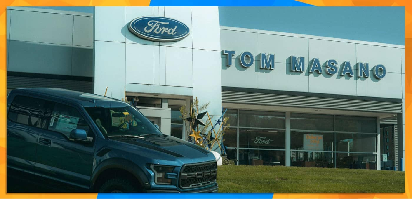 Tom Masano Ford Exterior
