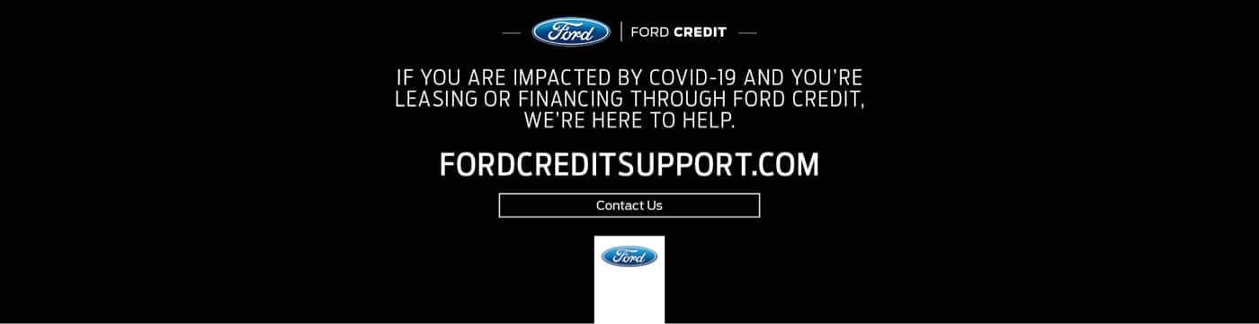 Ford Covid Support Banner