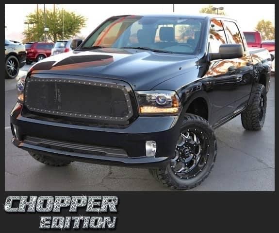 chopper edition black truck