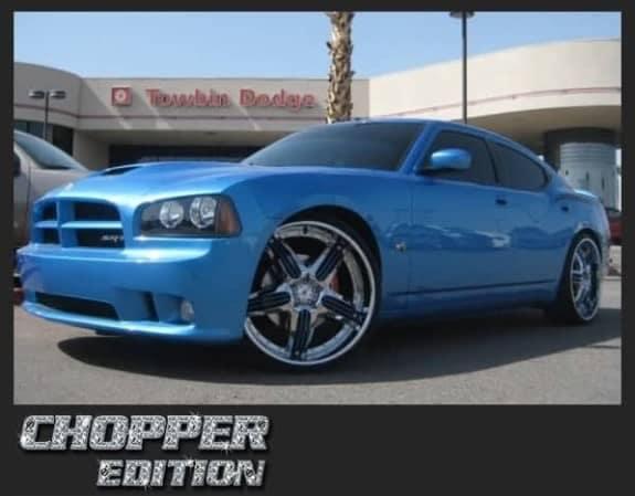 chopper edition blue