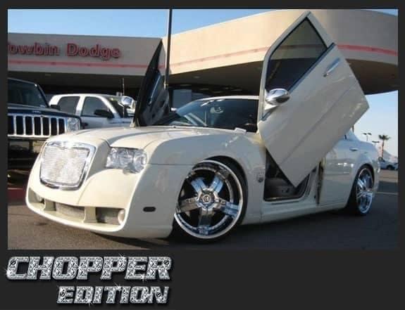 chopper edition white