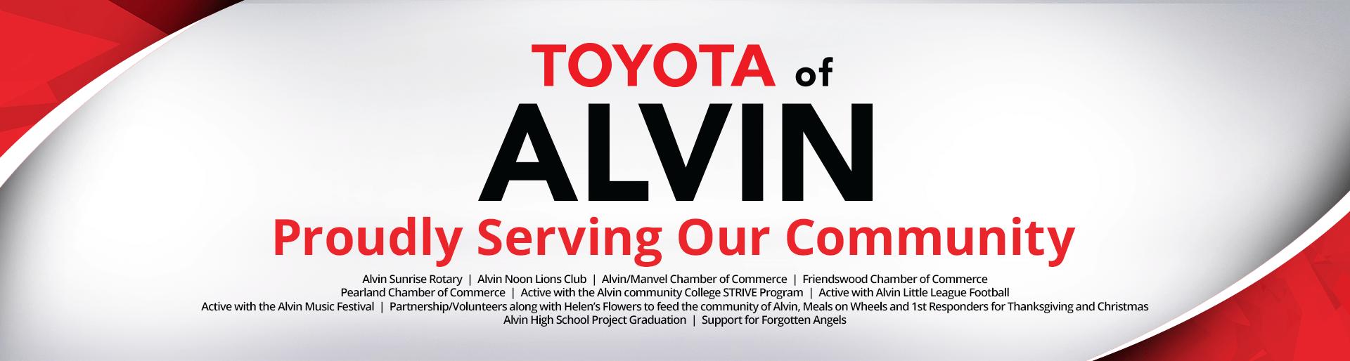 Alvin TX Community