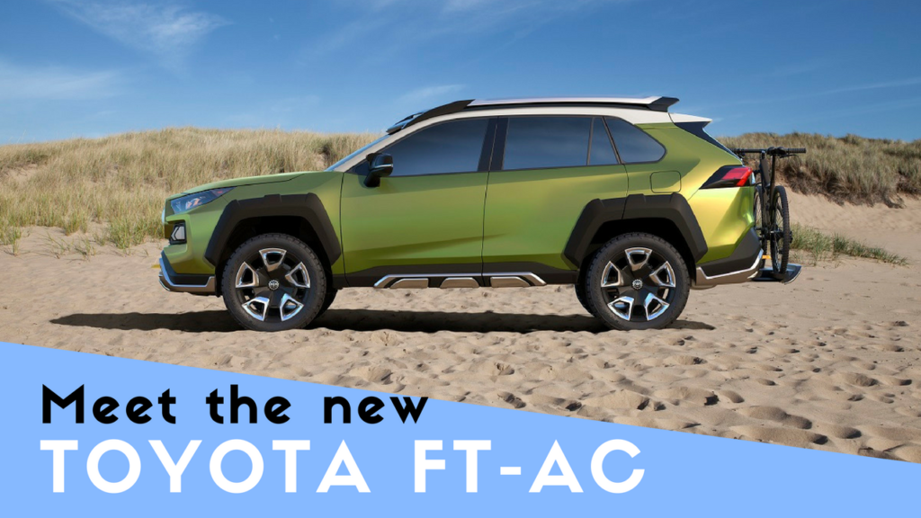 new off-road Toyota