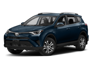 2018 Toyota RAV4 dark blue