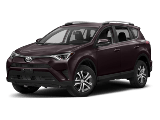 2018 Toyota RAV4 dark purple