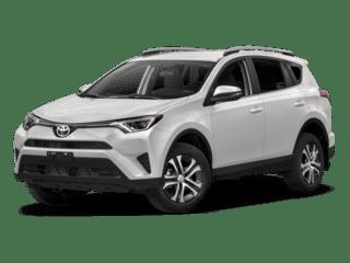 2018 Toyota RAV4 white