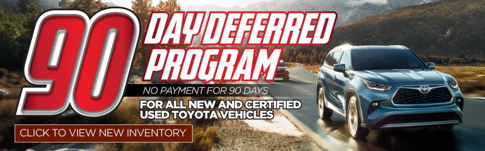 90 Day Deferred Program
