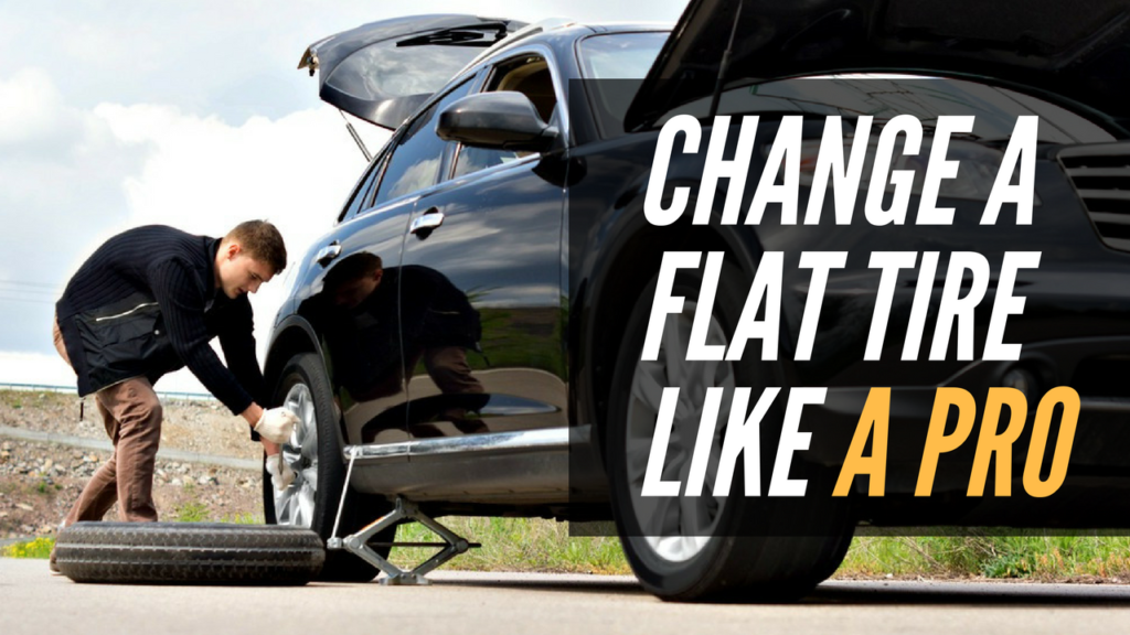 How To Change A Flat Tire Charlotte Toyota Service Center Tips