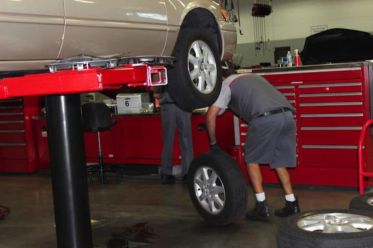 Affordable tire replacement