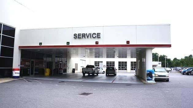NC Toyota Service Drive