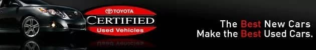 Toyota Certified Used Car in Charlotte