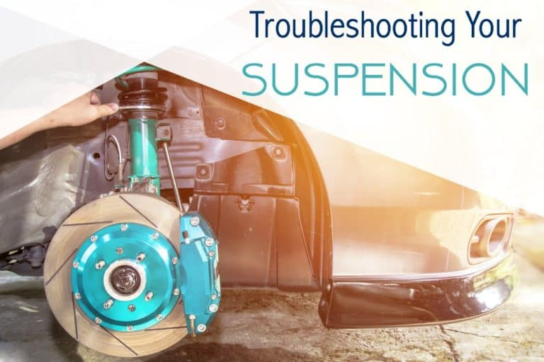 Troubleshoot car's suspension