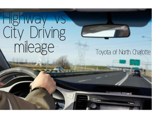 Driving mileage explained by Toyota of N Charlotte