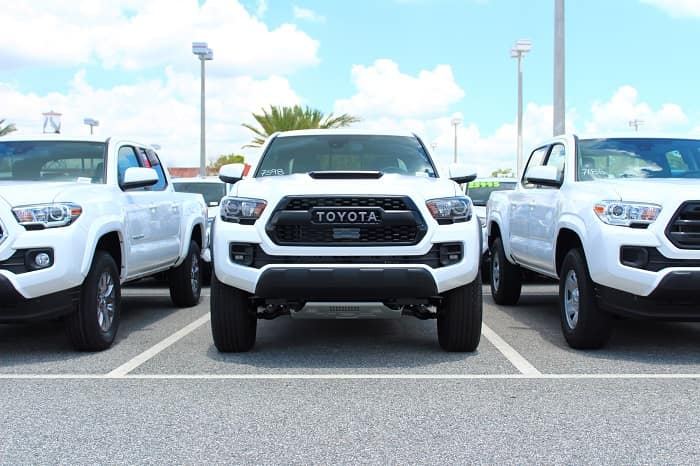Check out this Toyota pickup truck at Toyota of North Charlotte.