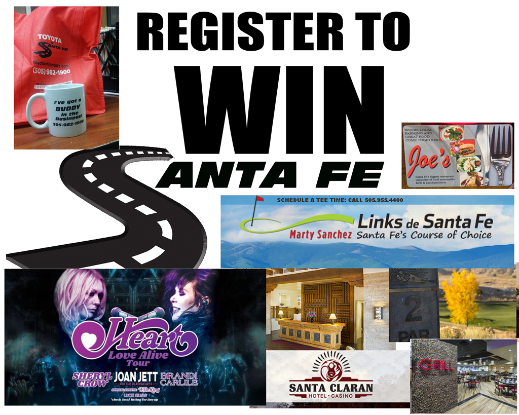 Register to Win Prizes