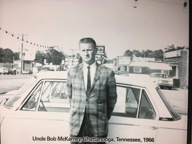 Uncle Bob McKamey in Chattanooga, TN 1966