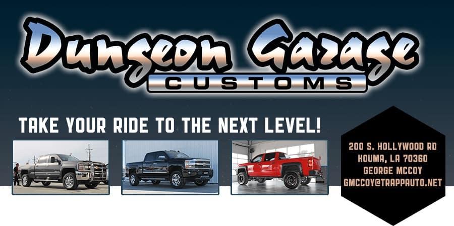 Dungeon Garage Customs banner