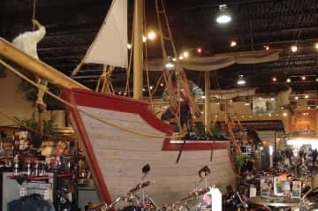 Ship in Harley Davidson Showroom