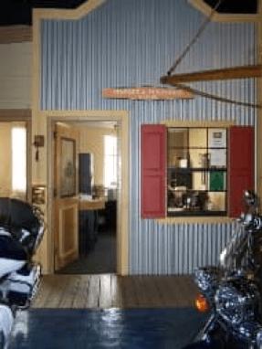 door is opening to Treasure Coast Harley Davidson business office