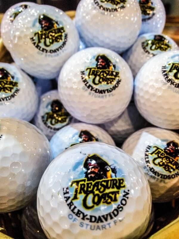 Harley Davidson golfballs