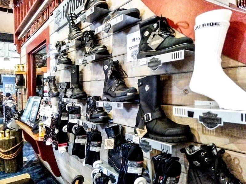 boots on display in Treasure Coast HD store