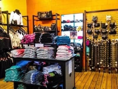internal view of corner of Treasure Coast HD store