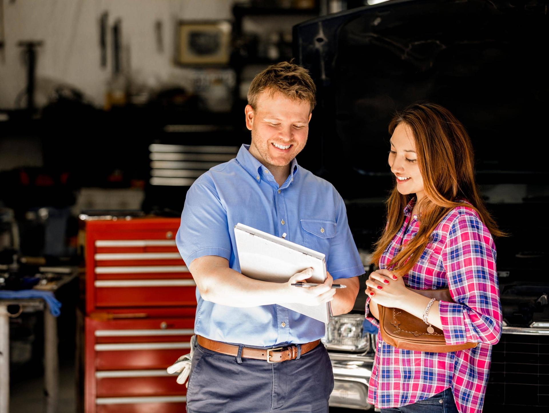 Certified Service Advisor Service Lane