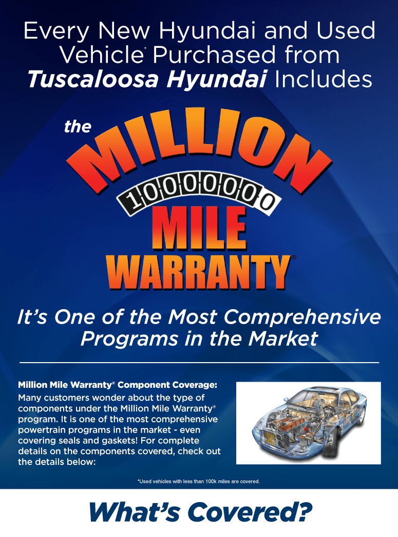 Million Mile Warranty pg