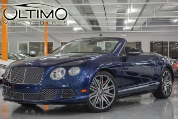 Pre-Owned 2014 Bentley Continental GTC SPEED AWD