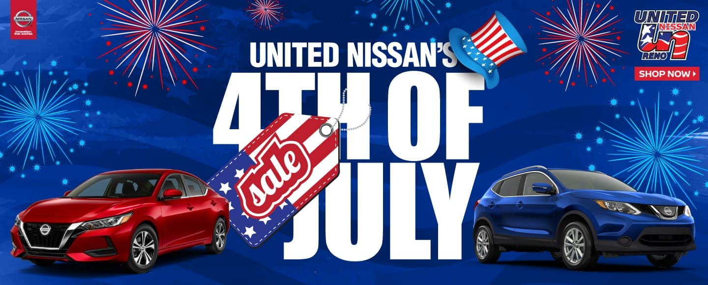 United Nissan 4th of July Sale