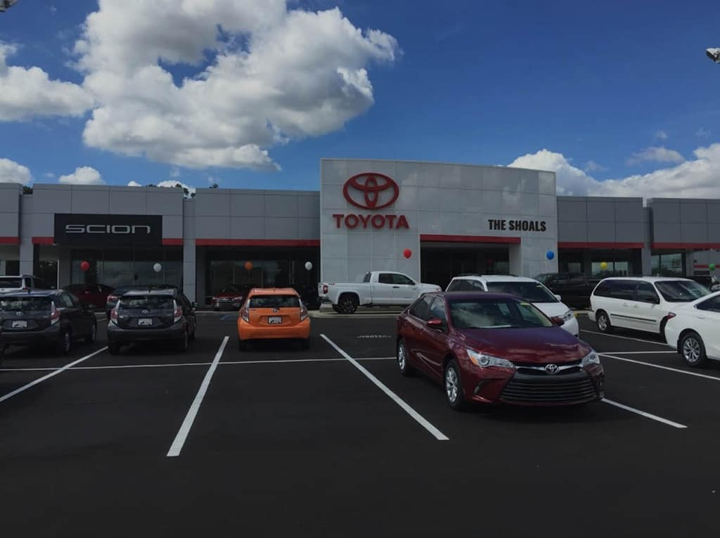 Toyota of the Shoals Dealership