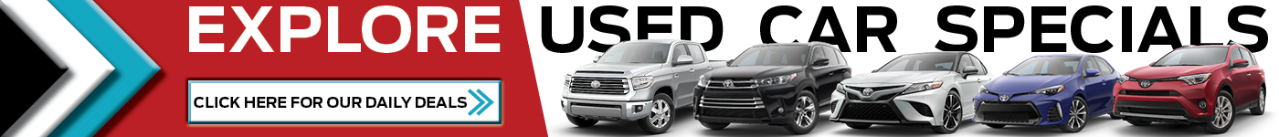 Pre-Owned Toyota Specials