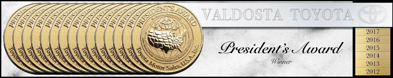 Valdosta Toyota President's Award