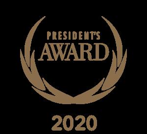 President's Award 2020 Logo - Gold (1) (1)