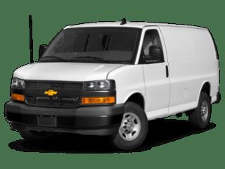 Chevrolet Express white