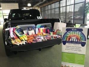 stuff the trunk - ford