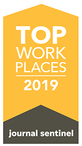 Top Work Places 2019 logo