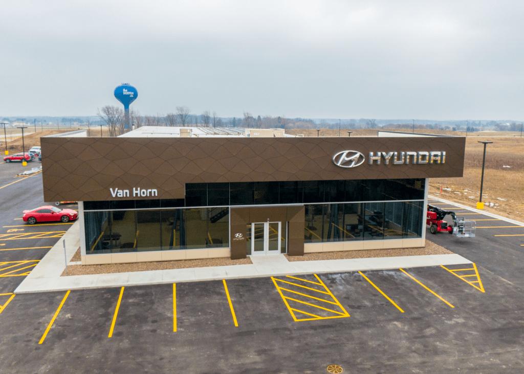 Van Horn Hyundai dealership front