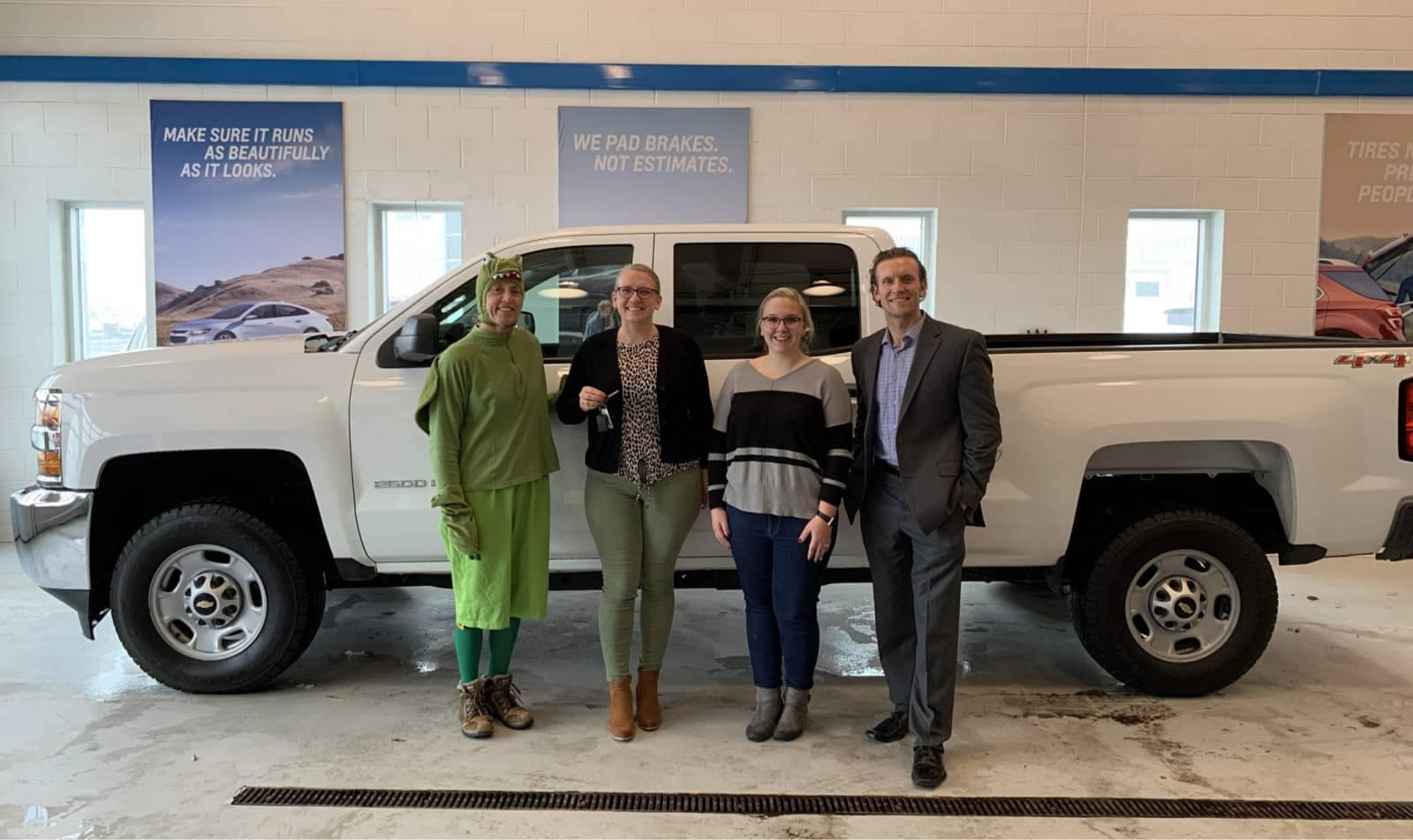 van horn donated truck to habitat for humanity